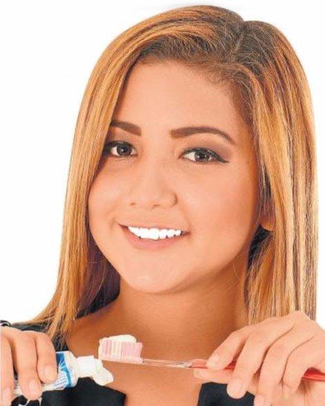 Buena higiene, dientes sanos