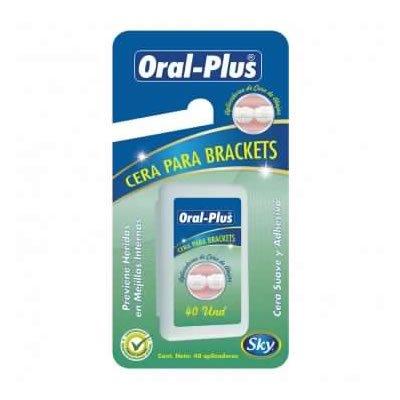 oral plus cera para brackets