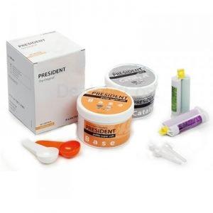 Siliconas dentales